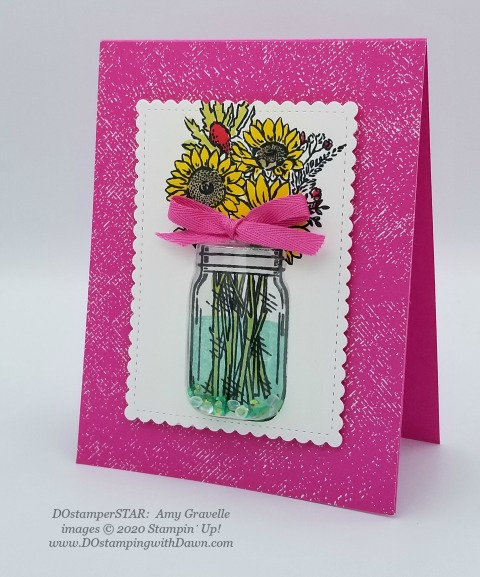 Stampin' Up! DOstamperSTAR Jar of Flower Bundle swap shared by Dawn Olchefske #dostamping #howdshedothat #stampinup #handmade #cardmaking #stamping #papercrafting  (Aimee Gravelle)