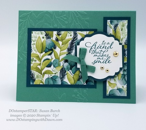 Stampin' Up! DOstamperSTAR Forever Fern Bundle swap shared by Dawn Olchefske #dostamping #howdshedothat #stampinup #handmade #cardmaking #stamping #papercrafting (Susan Burch)