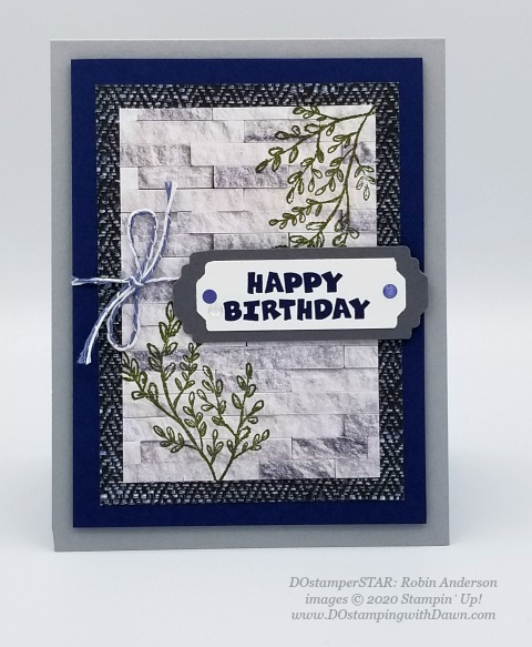 Stampin' Up! DOstamperSTAR A Grand Kid stamp set swap shared by Dawn Olchefske #dostamping #howdshedothat #stampinup #handmade #cardmaking #stamping #papercrafting (Robin Anderson)