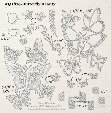 Stampin' Up! Butterfly Beauty #DOstamping #stampinup #butterflybeauty #bigshot #cardmaking #HowdSheDOthat #papercrafting