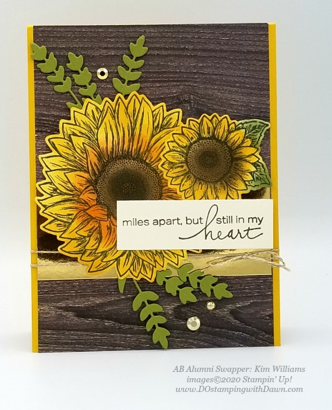 Stampin' Up! Flowers for Every Season Suite shared by Dawn Olchefske #dostamping #howdshedothat #stampinup #handmade #cardmaking #stamping #papercrafting (Kim Williams)