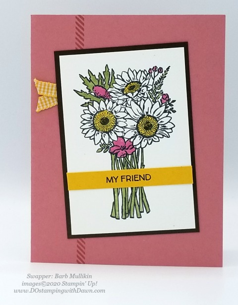 Stampin' Up! Flowers for Every Season Suite shared by Dawn Olchefske #dostamping #howdshedothat #stampinup #handmade #cardmaking #stamping #papercrafting (Barb Mullikin)