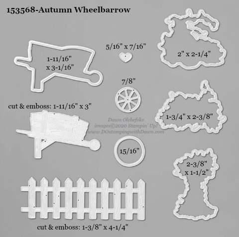 153568-Stampin' Up! Autumn Wheelbarrow Die measurements #DOstamping #stampinup #stampincut #cardmaking #HowdSheDOthat #papercrafting
