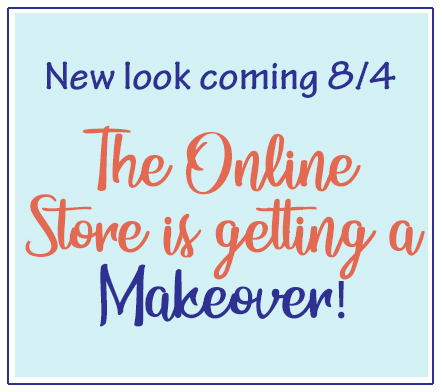 Stampin' Up! Online Store is getting a makeover August 4