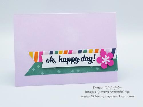 Paper Pumpkin May 2020 In Color Kit Blop Hop | Dawn Olchefske dostamping #stampinup #handmade #cardmaking #stamping #diy #papercrafting #paperpumpkin #cardkits
