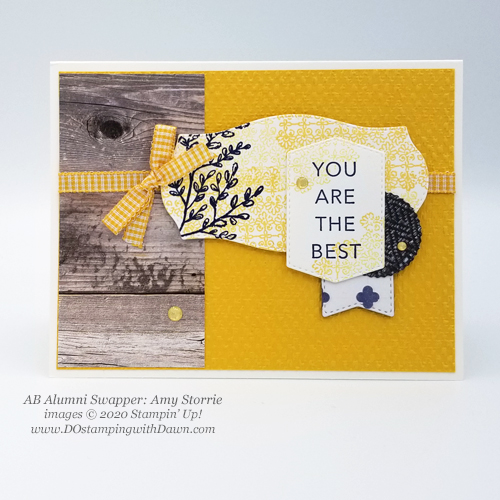 Stampin' Up! 2020-2022 In Color - Bumblebee comparison shared by Dawn Olchefske #dostamping #howdshedothat #stampinup #handmade #cardmaking #stamping #papercrafting  (Amy Storrie)