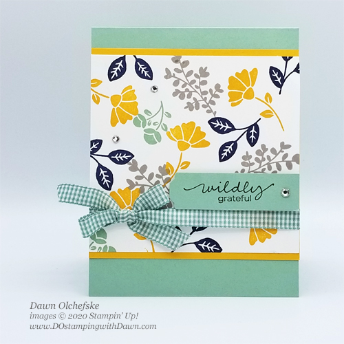 Stampin' Up! Lovely You Bundle card by Dawn Olchefske #dostamping #howdshedothat #stampinup #handmade #cardmaking #stamping #papercrafting  #DOswts340, #DOstamperSTARS
