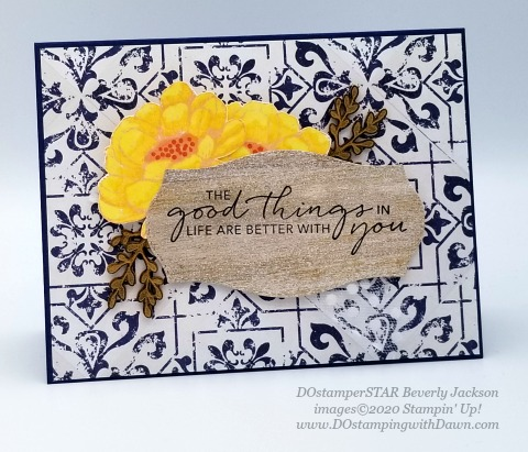 Stampin' Up! Good Taste Suite shared by Dawn Olchefske #dostamping #stampinup #handmade #cardmaking #stamping #papercrafting (DOstamperSTAR Beverly Jackson)