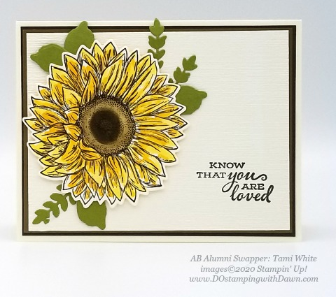 Stampin' Up! Flowers for Every Season Suite shared by Dawn Olchefske #dostamping #howdshedothat #stampinup #handmade #cardmaking #stamping #papercrafting (Tami White)
