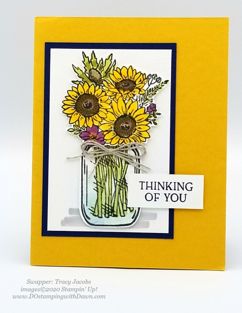 Stampin' Up! Flowers for Every Season Suite shared by Dawn Olchefske #dostamping #howdshedothat #stampinup #handmade #cardmaking #stamping #papercrafting (Tracy Jacobs)