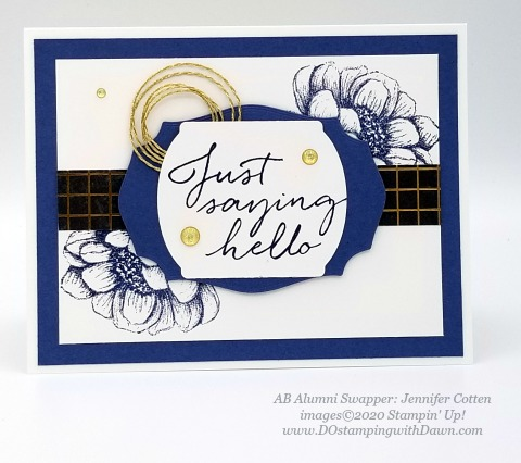 Stampin' Up! In Good Taste Suite shared by Dawn Olchefske #dostamping #howdshedothat #stampinup #handmade #cardmaking #stamping #papercrafting (Jennifer Cotten)