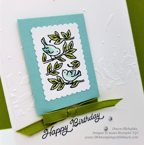 Stampin' Up! Posted For You Bundle card created by Dawn Olchefske #dostamping #howdshedothat #stampinup #handmade #cardmaking #stamping #papercrafting  #birthdaycards