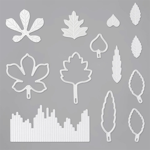 153567-Stitched Leaves Dies by Stampin' Up! #dostamping #stampinup #handmade #cardmaking #stamping #papercrafting