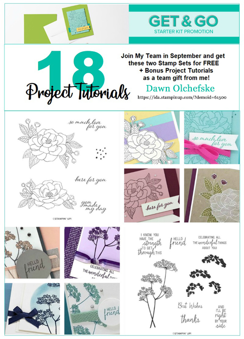 DOstamperSTARS Team Gift for October!  Join in September here:  https://ida.stampinup.com/?demoid=61500  #dostamping #dawnolchefske #joinstampinup