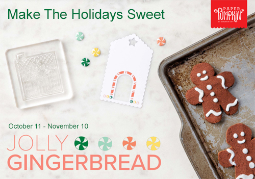 Jolly Gingerbread PP Nov2020 #dostamping #paperpumpkin