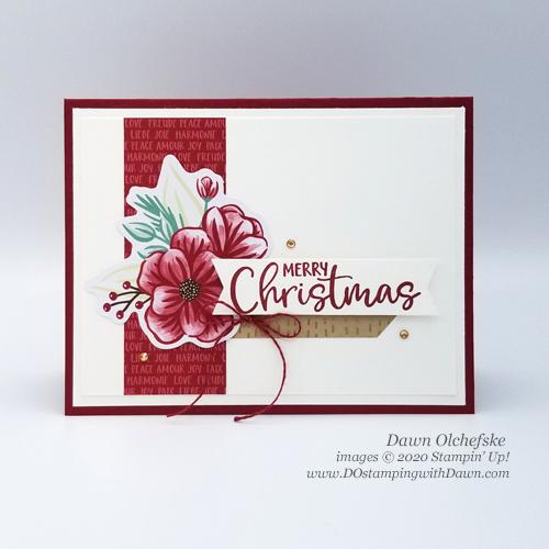 10 Paper Pumpkin October 2020 ideas - Joy to the World | Dawn Olchefske #dostamping #stampinup #handmade #cardmaking #stamping #diy #papercrafting #paperpumpkin #cardkits #christmascards
