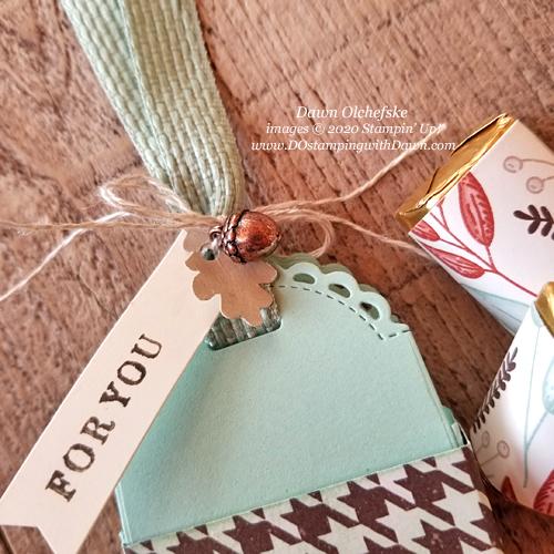 Stampin' Up! Little Treat Box by Dawn Olchefske #dostamping #howdshedothat #stampinup #handmade #cardmaking #stamping #papercrafting#DOswts350 #DOstamperSTARS