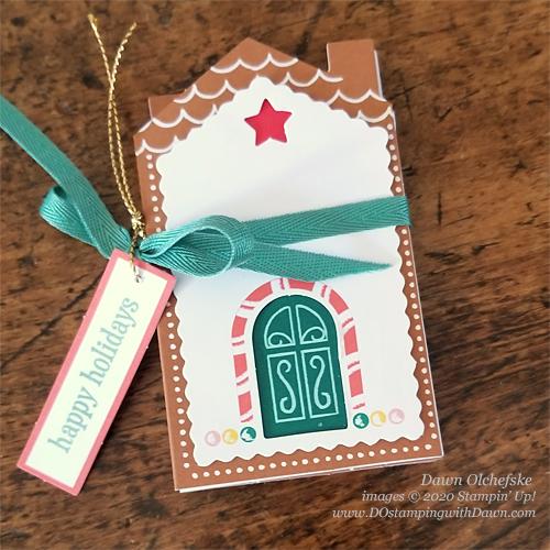 Paper Pumpkin November 2020 Blog Hop - Jolly Gingerbread | Dawn Olchefske #DOstamping #stampinup #handmade #cardmaking #diy #papercrafting #cardkits
