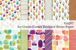 Stampin' Up! Ice Cream Corner Designer Series Paper shared by Dawn Olchefske #dostamping #stampinup #handmade #cardmaking #stamping #papercrafting