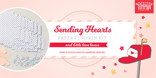 Paper Pumpkin January 2021-Sending Hearts Sneak Peek subscribe with Dawn Olchefske by Jan 10th #paperpumpkin #dostamping #stampsinthemail