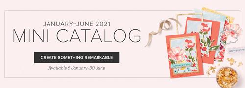 Stampin' Up! 2021 Jan - June Mini Catalog #dostamping #papercrafting #cardmaking-banner