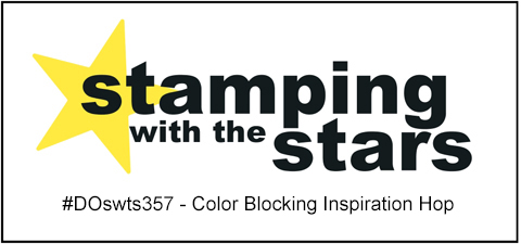 Stamping with the Stars #DOswts357 Color Blocking Inspiration #dostamperSTARS #dostampinup #stampinup