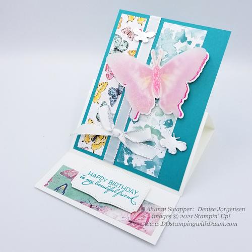 Stampin' Up! Butterfly Brilliance Bundle swap cards shared by Dawn Olchefske-(Denise Jorgensen)