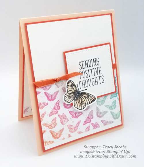 Stampin' Up! Butterfly Brilliance Bundle swap cards shared by Dawn Olchefske  (Tracy Jacobs)