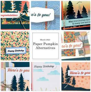 Paper Pumpkin Alternatives Bonus Tutorials from Dawn Olchefske #dostamping #howdSheDOthat #paperpumpkin