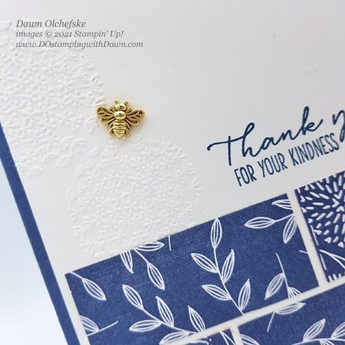 Stampin' Up! Dragonfly Garden card by Dawn Olchefske for DOstamperSTARS #DOswts360 sketch #dostamping #HowdSheDOthat #papercrafting-CU