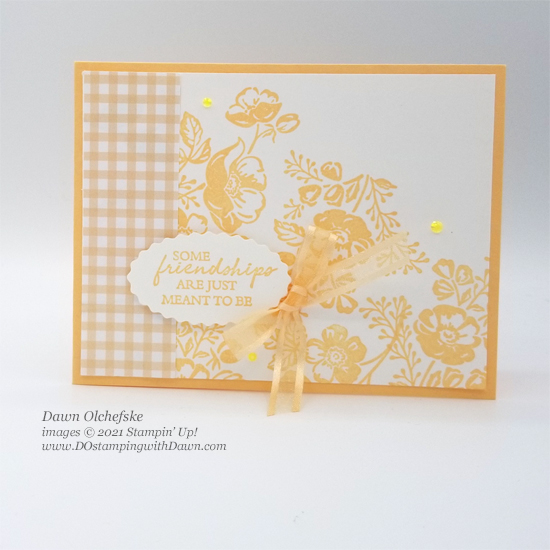 NEW Stampin' Up! In Colors with Shaded Summer stamp set card bys Dawn Olchefske #dostamping #HowdSheDOthat #DOswts363 #dostamperstars-ph
