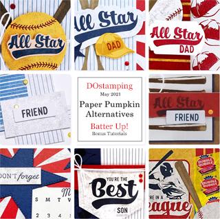 Batter Up Paper-Pumpkin Alternative Bonus Tutorial -from Dawn Olchefske #dostamping #howdSheDOthat #paperpumpkin