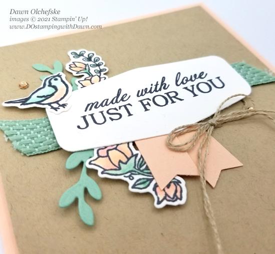 Stampin' Up! Quite Curvy Bundle card by Dawn Olchefske #dostamping #HowdSheDOthat #papercrafting #birthdaycards-cu