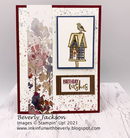 Stampin' Up! Beauty of the Earth card shared by Dawn Olchefske #dostamping (DOstamperSTAR Beverly Jackson)