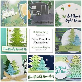 The Adventure Begins Paper-Pumpkin August 2021 Alternative Bonus Tutorials from Dawn Olchefske #dostamping #howdSheDOthat #paperpumpkin-320