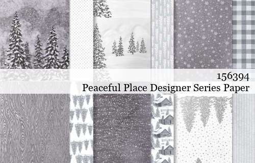 156394-Peaceful Place Designer Series Paper shared by Dawn Olchefske #dostamping #stampinup #handmade #cardmaking #stamping #papercrafting