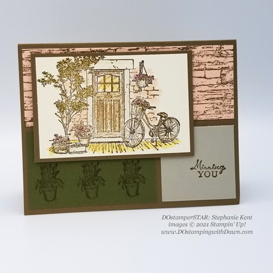 FREE Sale-a-Bration Feels Like Home swap cards shared by Dawn Olchefske #dostamping #stampinup (Stephanie Kent)