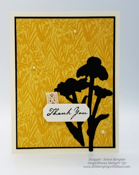 Stampin' Up! Harvest Meadow Suite swap cards shared by Dawn Olchefske #dostamping #stampinup (Selene Kempton)