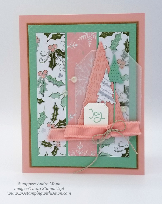 Stampin' Up! Whimsy & Wonder Suite swap cards shared by Dawn Olchefske #dostamping #stampinup (Audra Monk) (1)