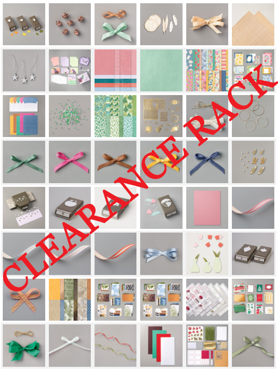 21.1005-Stampin' Up! Clearance Rack Update #dostamping