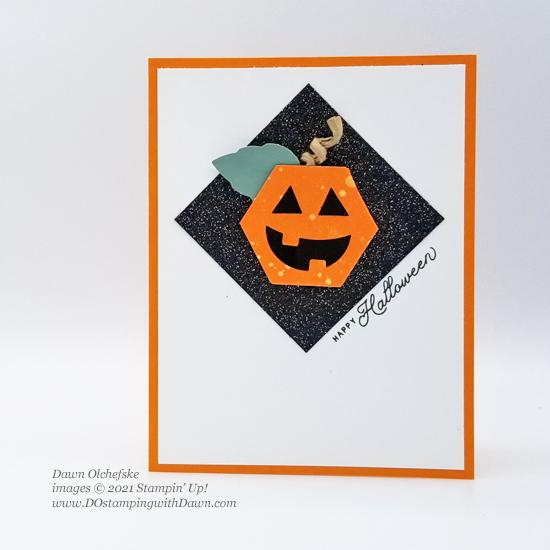September 2021 Haunts & Harvest Paper Pumpkin alternative ideas.  Subscribe with Dawn Olchefske #dostamping #howdSheDOthat #halloween