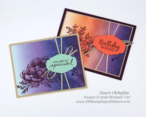 Paper Pumpkin July 2020 Blop Hop - Summer Nights | Dawn Olchefske dostamping #stampinup #handmade #cardmaking #stamping #diy #papercrafting #paperpumpkin #cardkits
