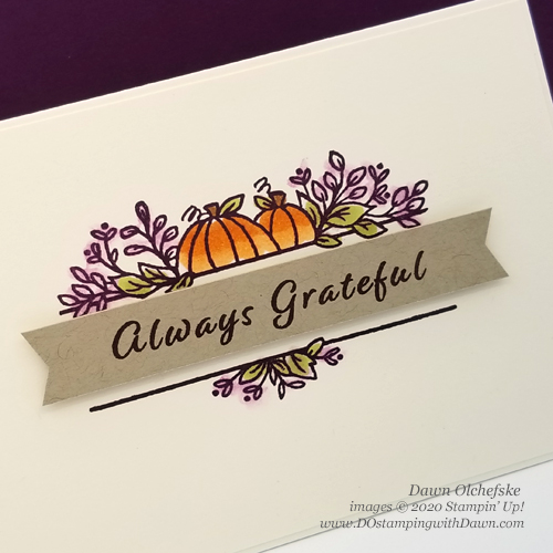 Celebration Tidings Note Card shared by Dawn Olchefske #dostamping #howdshedothat #stampinup #handmade #cardmaking #stamping #papercrafting #stampinblends