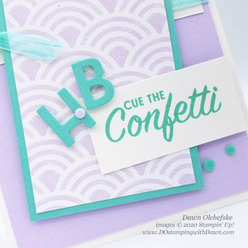 Pattern Play Bundle card shared by Dawn Olchefske #dostamping #howdshedothat #stampinup #handmade #cardmaking #papercrafting  #playingwithpatternsSuite #birthdaycards