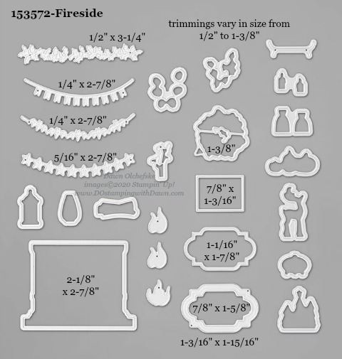 153572-Stampin' Up! Fireside Die measurements #DOstamping #stampinup #stampincut #cardmaking #HowdSheDOthat #papercrafting