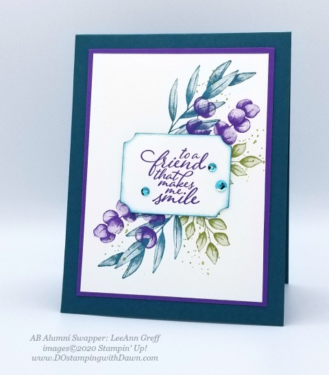 Stampin' Up! Forever Greenery Suite shared by Dawn Olchefske #dostamping #howdshedothat #stampinup #handmade #cardmaking #stamping #papercrafting(LeeAnn Greff)