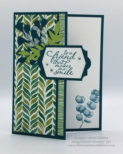 Stampin' Up! Forever Greenery Suite shared by Dawn Olchefske #dostamping #howdshedothat #stampinup #handmade #cardmaking #stamping #papercrafting(Sandi Carlson)