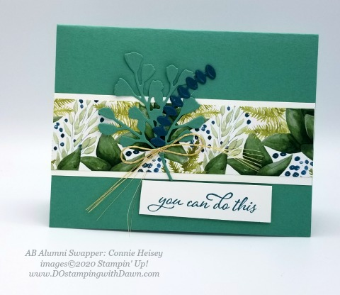 Stampin' Up! Forever Greenery Suite shared by Dawn Olchefske #dostamping #howdshedothat #stampinup #handmade #cardmaking #stamping #papercrafting (Connie Heisey)