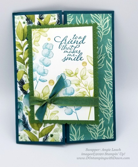 Stampin' Up! Forever Greenery Suite shared by Dawn Olchefske #dostamping #howdshedothat #stampinup #handmade #cardmaking #stamping #papercrafting(Angie Leach)