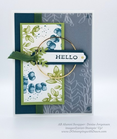 Stampin' Up! Forever Greenery Suite shared by Dawn Olchefske #dostamping #howdshedothat #stampinup #handmade #cardmaking #stamping #papercrafting (Denise Jorgensen)
